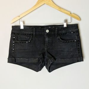 American Eagle Black Diamond Stud Jean Short 10